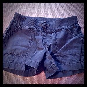 Navy, sweatband shorts